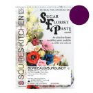 Sugar Florist Paste - Bordeaux / Burgundy 100g.